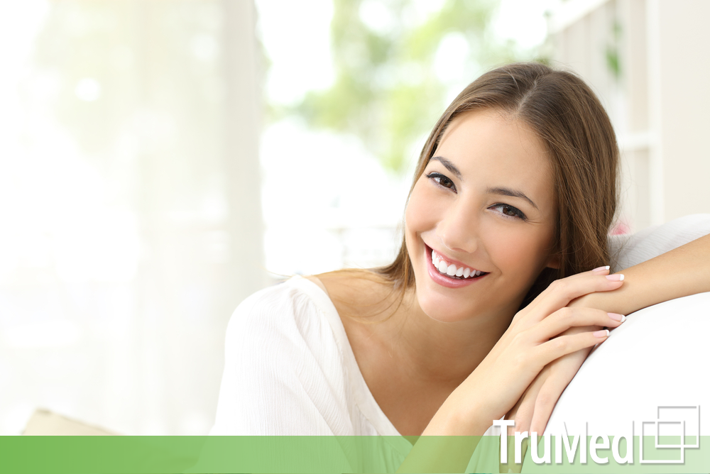 happy woman that came from trumed naturopath clinic in edmonton